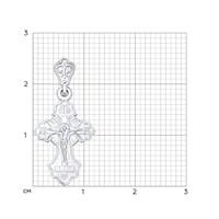Крест из серебра - фото 5146