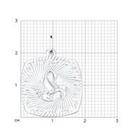 Подвеска «Знак зодиака Скорпион» из серебра - фото 5159